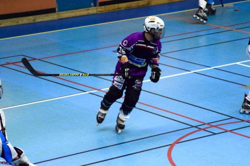 Joueur des Vixens de Pamiers Roller Hockey N3