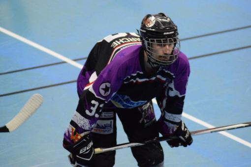 Joueur des Vixens de Pamiers Roller Hockey U30