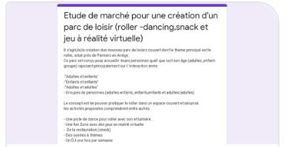 Lien vers formulaire pour un roller-dancing